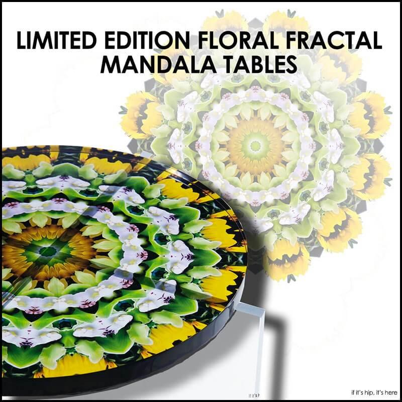 Javier Gomez Acrylic Mandala Tables