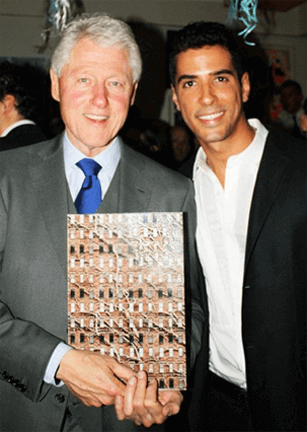 Bill Clinton & Javier Gomez
