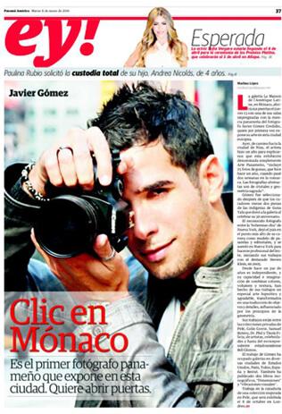 Galería La Maison de l'Amérique Latine, en Mónaco presenta a Javier Gomez
