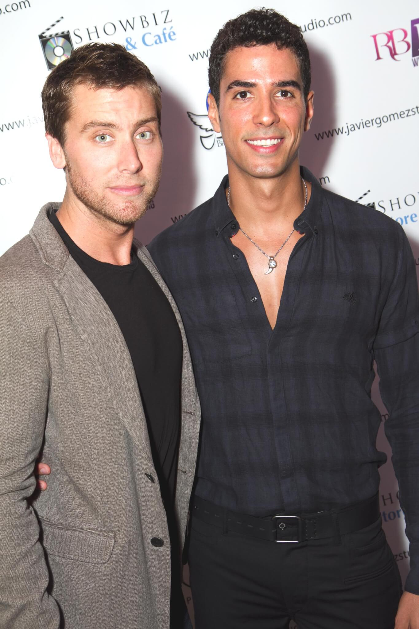 Lance Bass & Javier Gomez at Real Beauty Real Women, Socially Conscious