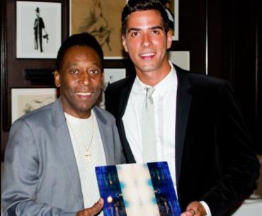 Pelé and Javier Gomez Artist JG Home Living