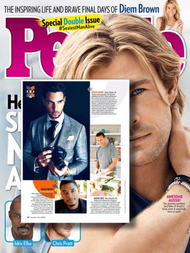Javier Gomez Sexiest Artist Alive People Magazine