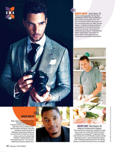 People Magazine Sexiest Artist Alive Javier Gomez Photographer Panama