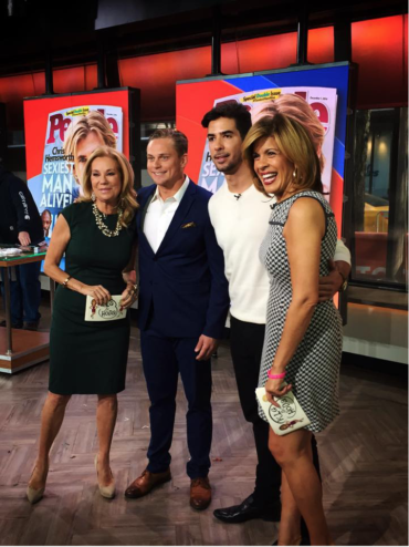 """Javier Gomez on """"The Today Show"""" discusses being one of People's """"Sexiest Men Alive"""" 2014"""