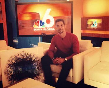 NBC 6 Miami Interview with artist Javier Gomez